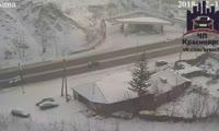 Машина без водителя уехала с заправки на ул. Брянская