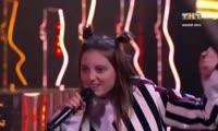 Выступление красноярки на кастинге шоу «Песни»