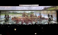 3D-шоу на Театральной площади в честь года до Универсиады
