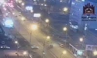 В Красноярске произошло ДТП с участием автомобиля реанимации
