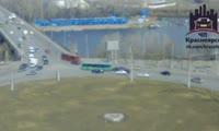 Авария с автобусом на Премостной площади