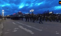 Репетиция торжественного шествия на 9 мая