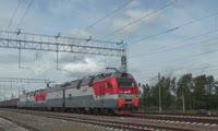 Новые грузовые электровозы «Ермак» на Красноярской железной дороге