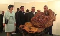 В Кызыле открылась выставка худождественных работ министра обороны России Сергея Шойгу