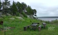 Предпринимательница из  Лесосибирска сняла в аренду остров и устроила там пляж