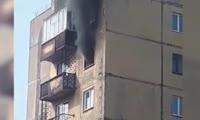 Из пожара в норильской девятиэтажке спасли трех детей
