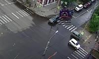 ДТП на перекрестке ул. Парижской Коммуны - Карла Маркса
