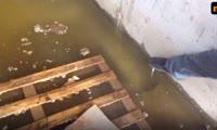 Подземный переход на Киренского потонул в воде