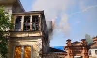 Пожар в усадьбе в Енисейске