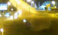 Одиночное ДТП на кольце Предмостной площади
