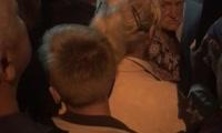 Давка при входе на главную поляну фестиваля Мир Сибири