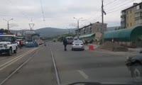 На ул. Матросова трамвай сбил человека