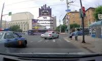 Нарушитель в центре Красноярска