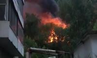 Пожар на Саянской