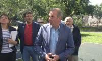 Глава Центрального района побеседовал с жителями Уютного дворика