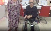 Красноярец в инвалидном кресле тестирует Многофункциональный центр на доступность