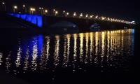 Подсветка Коммунального моста