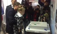 Глава Красноярска Сергей Ерёмин проголосовал