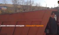 Так украшают транспортные кольца в Красноярске