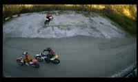 Мотоциклисты на Столбах