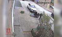 Преступление частично попало на камеру уличного наблюдения