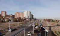 Вид улицы Волочаевская с высоты