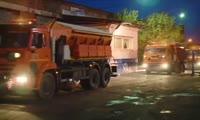 В Красноярск прибыла первая партия уборочной техники