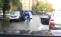 Наезд на пешеходов в Абакане