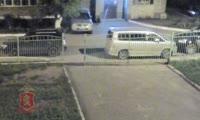 Полиция зафиксировала на видео момент кражи авто