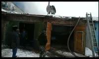 Пожар в Лесосибирске около Командора