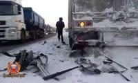Авария на трассе Р-255 в районе Кускуна