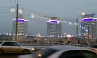 Подсветка на Предмостной площади