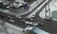 Красноярец переходил Копылова в неположенном месте и выломал автомобилисту стекло  заднего вида