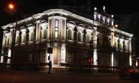 Подсветка зданий полиции