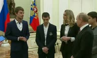 Красноярский предприниматель встретился с Путиным