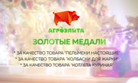Награждение Мясничего на выставке в Москве