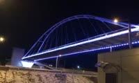 Подсветка пешеходного перехода на Николаевском проспекте