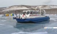 Шарыповские спасатели получили супер современный катер-амфибию
