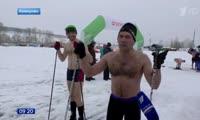 Сюжет  про первые соревнования по криатлону в Сибири