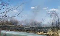 Пожар в Канском районе