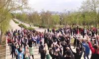 Зарядка со стражем порядка в Красноярске