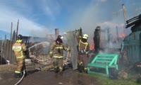 Пожар на улице Рязанская