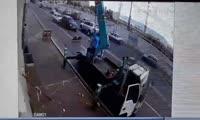 Авария на улице Бограда