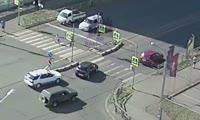 Авария на перекрестке улиц Мартынова и Линейная