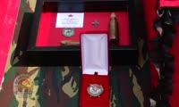 Торжественная церемония передачи родственникам останков погибших в Великую Отечественную войну солдат