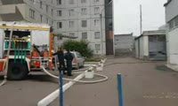 Пожар в общежитии аграрного университета