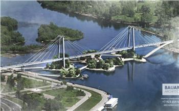 ВКрасноярске под Вантовым мостом предложили сделать пешеходные острова