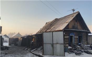 ВУяре сгорел частный дом. Погибли мать ипятеро детей