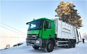 Красноярский левобережный регоператор сообщил о возможных перебоях со своевременным вывозом мусора из-за морозов