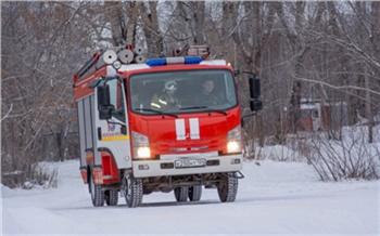 В предновогоднюю ночь в Саянском районе сгорел дом с 4 людьми внутри